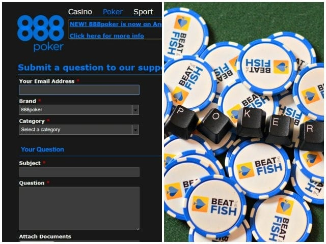 Player Support at 888 Poker