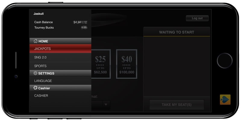 America's Cardroom review of mobile software