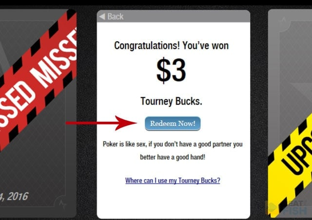 ACR Tourney Bucks Card