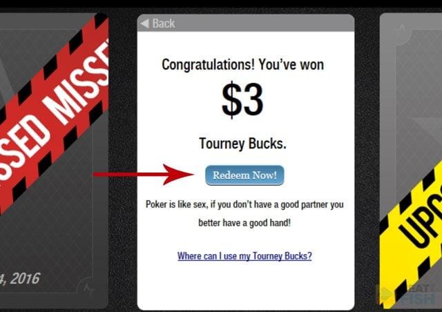 ACR Tourney Bucks Card