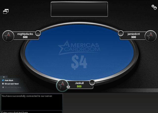 America's Cardroom Jackpot Poker odds