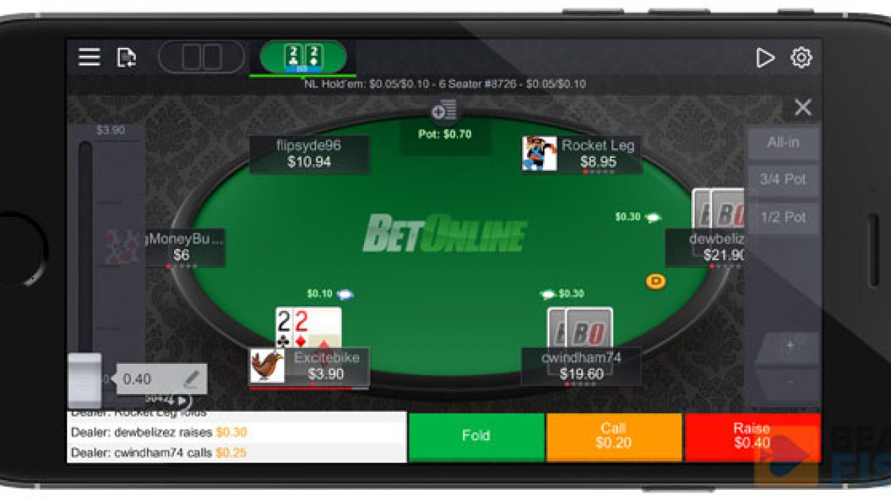 мобильного покер онлайн для