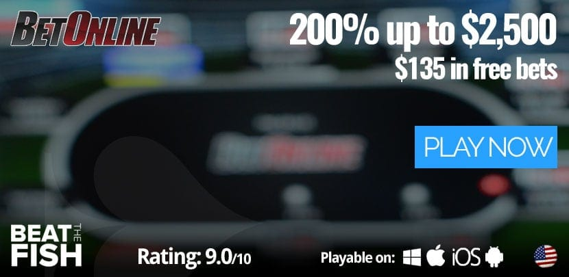 Play Now at BetOnline Poker