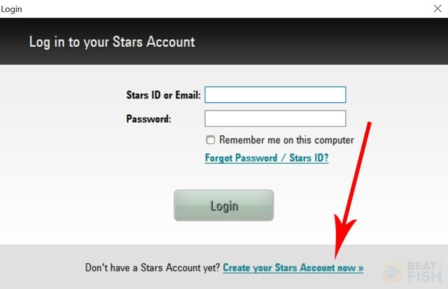 Creating a PokerStars Account