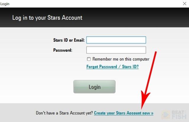Creating a PokerStars Account