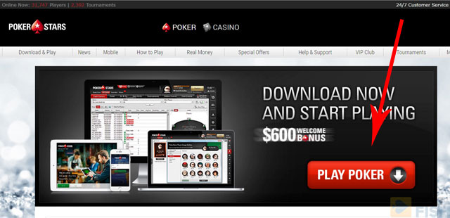 PokerStars Download Link