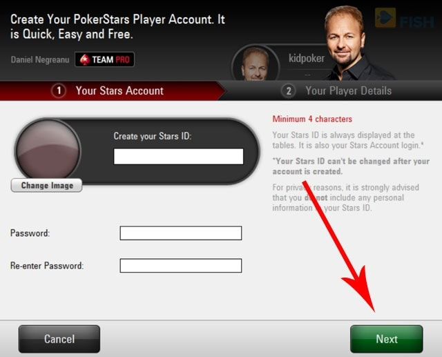 How to Make a New PokerStars Account