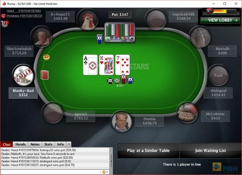 PokerStars Gallery 4