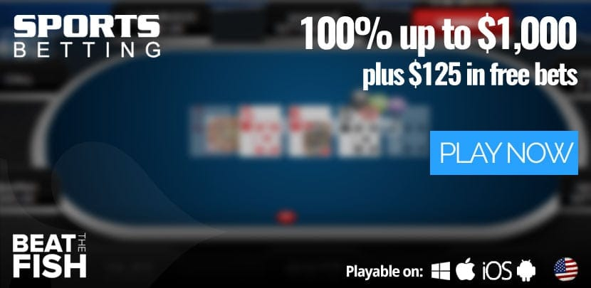 Play at Sportsbetting Poker Now