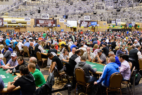 The WSOP has become an absolute spectacle, taking over Las Vegas every summer