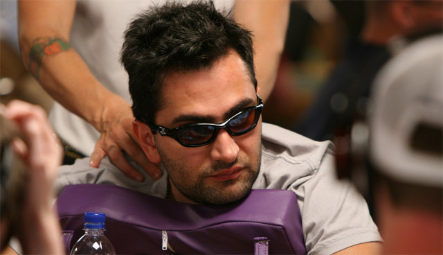 Antonio Esfandiari, the man with the biggest amount of money earned playing WSOP tournaments