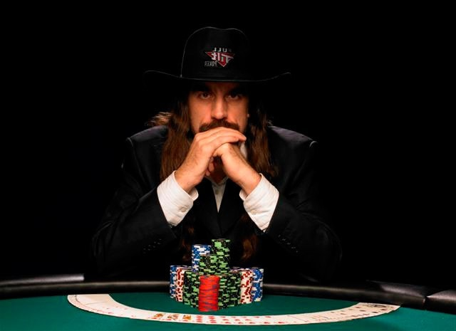 """Chris Ferguson, the man whose long hair and stoic posture at the tables brought him nickname """"Jesus"""""""