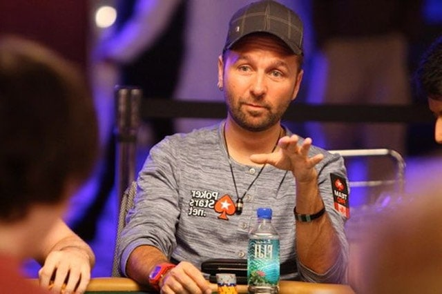 Daniel Negreanu, the ambassador for PokerStars and the friendliest face you can meet at the tables