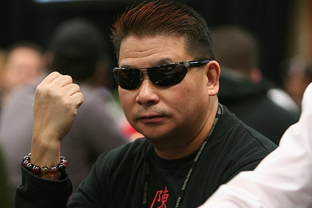 "Johnny Chan: despite his tremendous poker success (including 10 WSOP bracelets), he will remain best remembered for his appearance in the ""Rounders"""