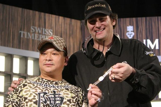 Phil Hellmuth stopped Johnny on his way to win third WSOP Main Event title in a row