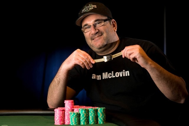 "Mike Matusow: his display of emotions at the tables brought him nickname ""The Mouth"""