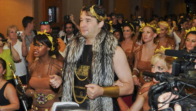 Phil Hellmuth is a modest guy... Said no one... ever