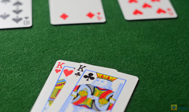 When all betting, raising, and bluffing is done, if there are more than one players in the pot after the river, the showdown is used to determine the winner