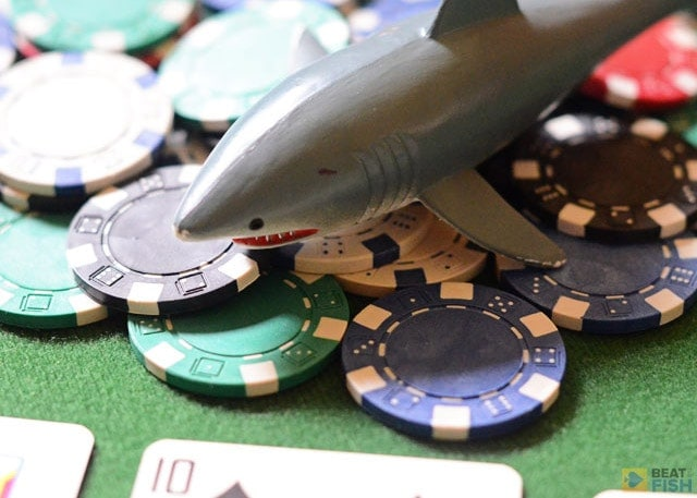 Although you need to increase your aggression levels in sit and go tournaments as blinds get bigger, don't over-adjust to the point where you become reckless with your chips