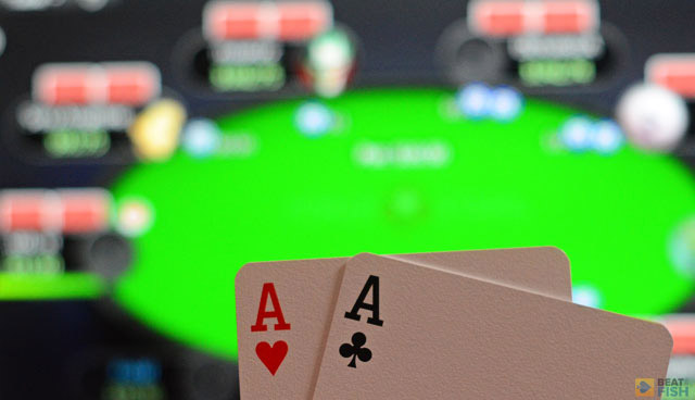 If you do end up playing against 5 or more opponents, be very weary of dangerous flops with pairs or flush draws. Since everybody had to only pay one or two blinds to get in, they could be holding any two cards