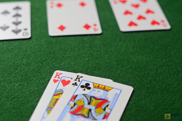 That may look like a kind of flop you hoped for when slowplaying pocket Kings, but think again...