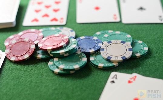 Paper In Poker Pot