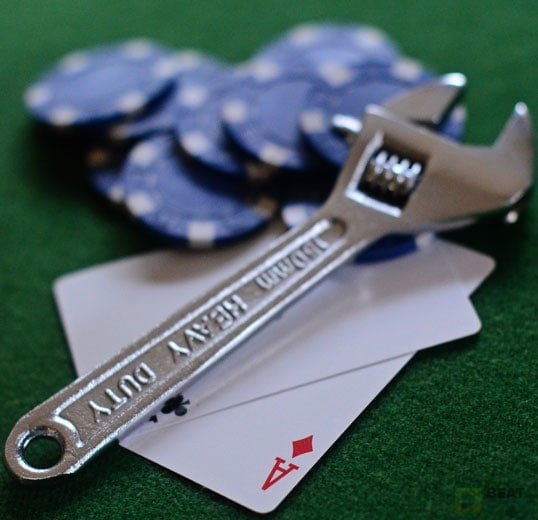 The easiest way to tighten up your Hold'em game? Know the odds you're getting to improve your hand