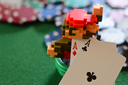 I'm a lifelong player who moved to online poker in 2004 and launched Beat The Fish in 2005. Only a little less old-school than 8-bit Mario.