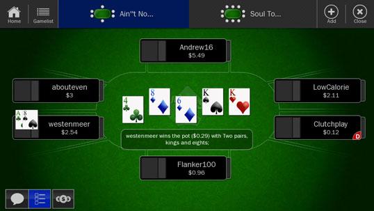 can you split a flush in poker