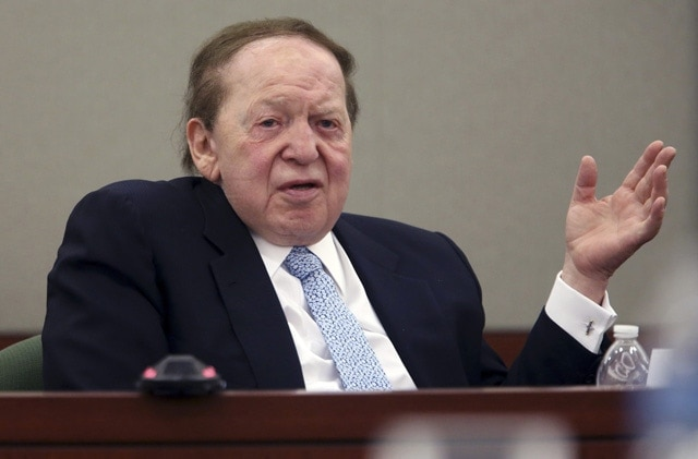 Sheldon Adelson, CEO of Las Vegas Sands and the most vocal opponent of online poker in the USA (source: washingtonpost.com)