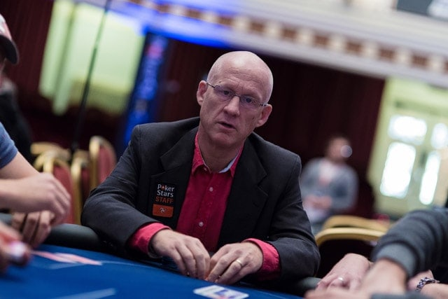 Lee Jones, head of corporate communications at the PokerStars (source: PokerStars blog)