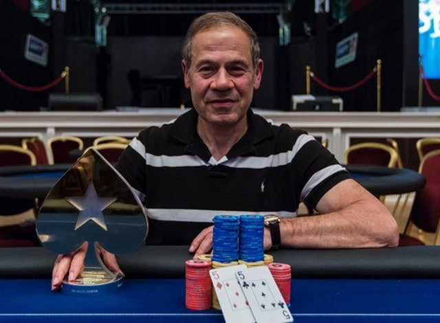 A rare photo of Isai Scheinberg, founder of the PokerStars. His contributions put him near the top of any the most influential people in the online poker industry list. (source: Danny Maxwell, PokerStars blog)