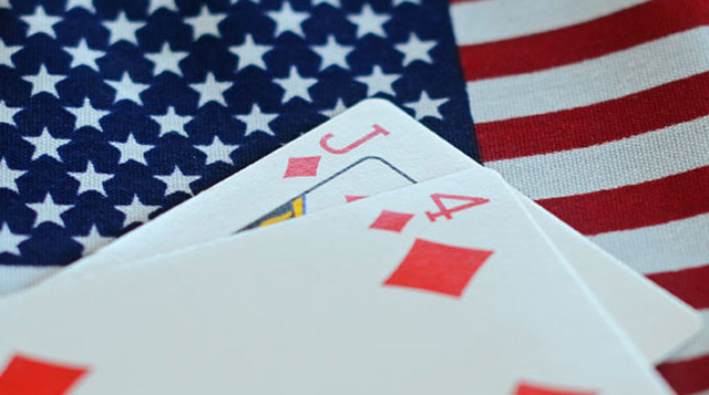 But it was suited... Eleven people involved with underground poker activities dealt a raw hand