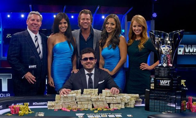 Close, but no cigar for Anthony Zinno, who already has three WPT titles to his name (source: pokernews.com)