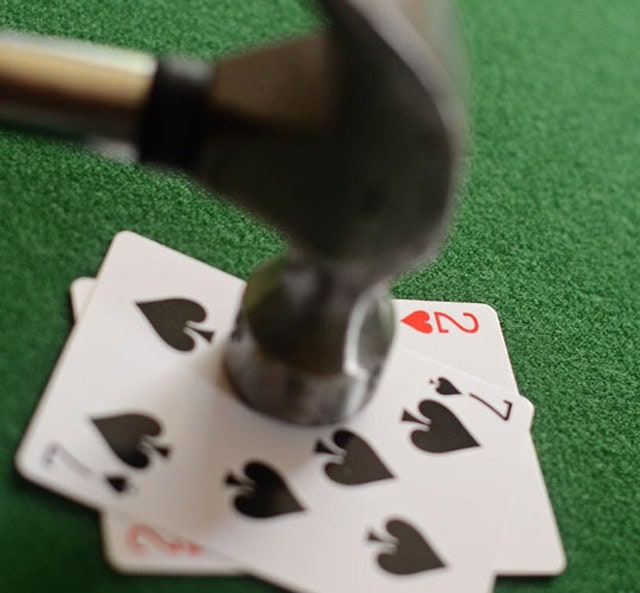 Stop worrying about bad beats. In Match Poker, luck plays rather insignificant role