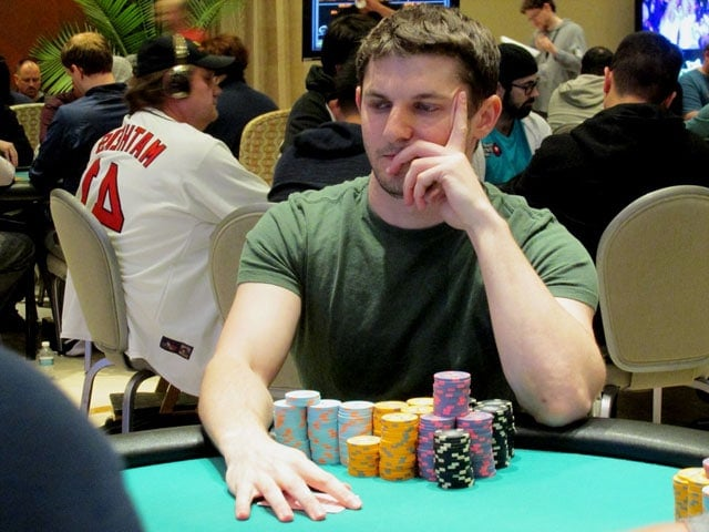 Starting the day as a chip leader, Jonathan Jaffe had his eyes set on the WPT Tournament of Champions trophy (source: theborgata.com)