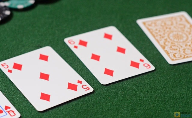 The first three community cards in Hold'em and Omaha are known as the flop