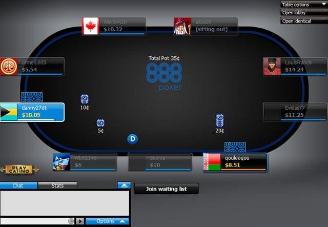 888 Poker Gallery 5