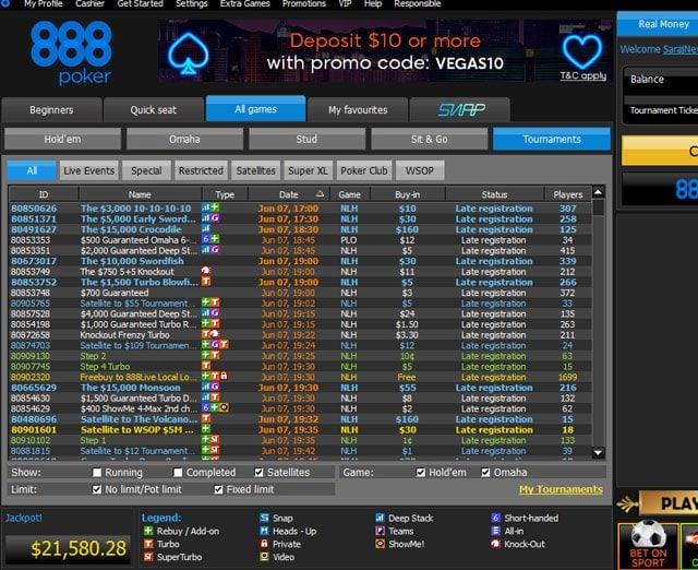 888 Poker Gallery 3