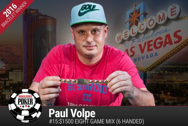 Apart from having Howard Lederer back at the WSOP, Paul Volpe winning his second WSOP bracelet was another important story of the past weekend