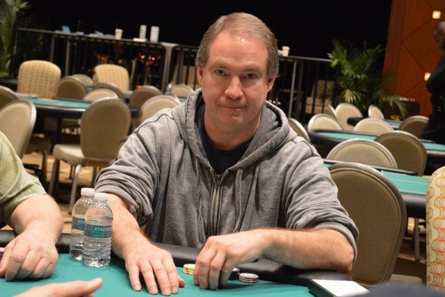 Of all the players at the table, Ted Forrest represented the biggest challenge to Mizrachi's quest for fourth WSOP bracelet