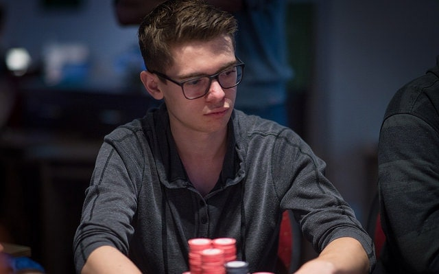 Fedor Holz came close to the victory, but he couldn't outlast Kempe in the heads-up battle (source: worldpokertour.com)