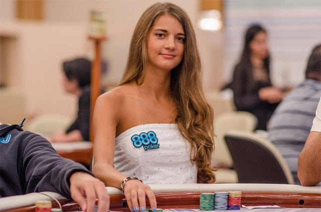 Beautiful Sofia Lovgren busted in 12th place, falling short of joining the ranks of WSOP millionaires (source: pokerstrategy.com)
