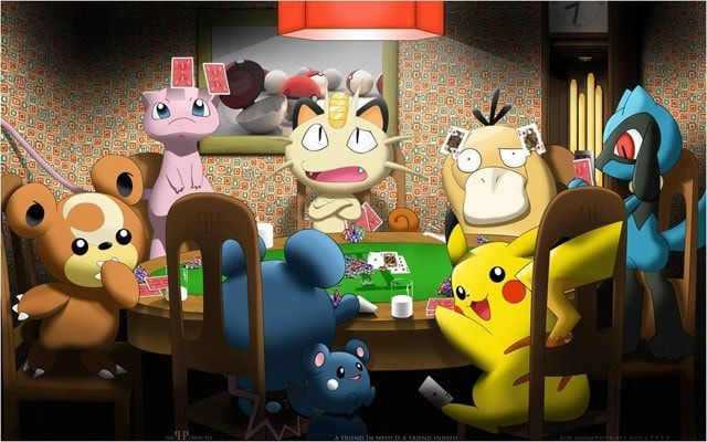 Poker Pokemon Go