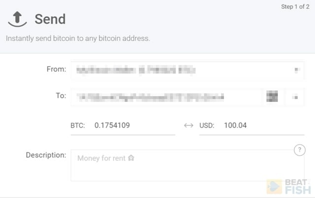 Sending Bitcoin to Ignition Poker
