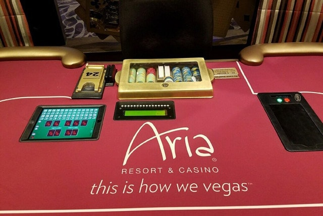 Polarizing: Protection Poker Now at Vegas' Aria Poker Room