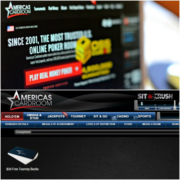 Americas Cardroom Bonus Tournament Entries