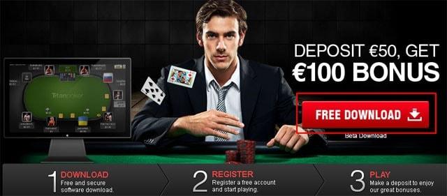titan poker sports betting lines