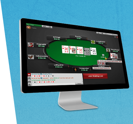 BetOnline Poker Screen