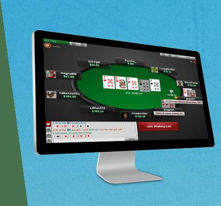 BetOnline Poker Screen